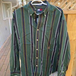 Vintage Style Tommy Hilfiger Dress Shirt